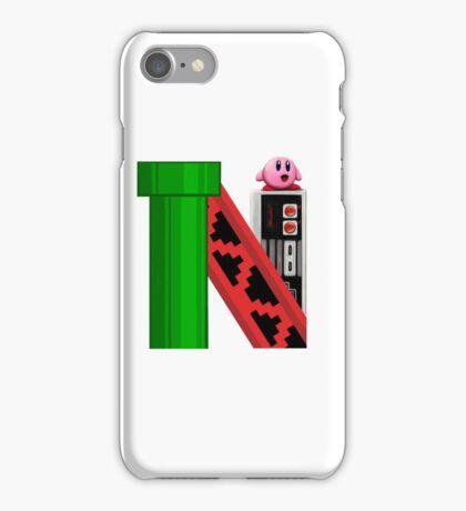 Geek letter N iPhone Case/Skin