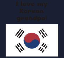 I Love My Korean Grandpa One Piece - Long Sleeve
