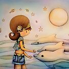 dolphin paradise by © Karin Taylor