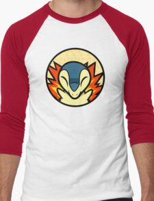 Cyndaquil Men's Baseball ¾ T-Shirt
