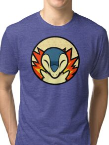 Cyndaquil Tri-blend T-Shirt