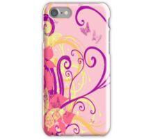 Floral, Swirl, Butterfly iPhone Case iPhone Case/Skin