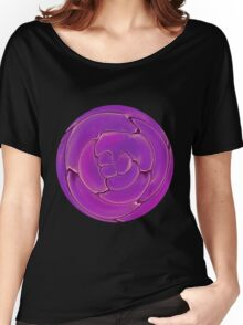 Purple Cells Women's Relaxed Fit T-Shirt