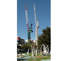 Hidmarsh Square, Adelaide - with Sculptures Photographic Print