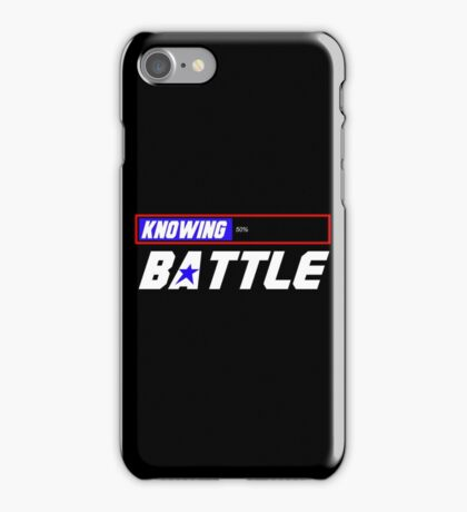 Half the Battle iPhone Case/Skin
