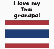 I Love My Thai Grandpa Baby Tee
