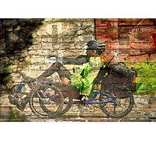 Brick Wall Design Photographic Print