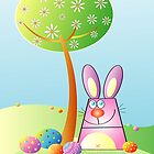 Easter egg hunt by Bessie Ho