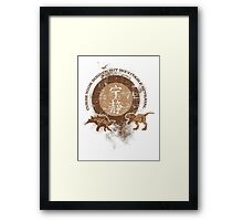 Curse your Betrayal - Firefly Framed Print