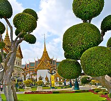 Grand Palace, Bangkok, Thailand. by johnrf