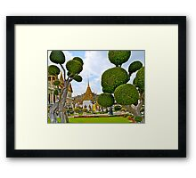 Grand Palace, Bangkok, Thailand. Framed Print