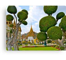 Grand Palace, Bangkok, Thailand. Canvas Print