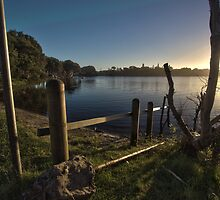 Lake Ainsworth Fence by Daniel Rankmore