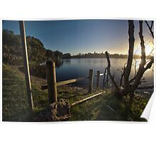 Lake Ainsworth Fence Poster