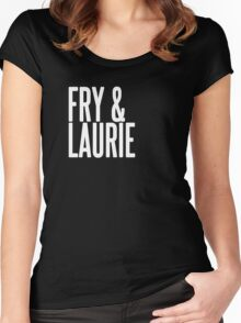 Fry & Laurie Women's Fitted Scoop T-Shirt