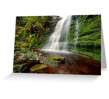 Nature undisturbed Greeting Card