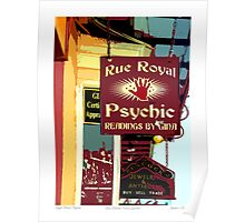 Royal Street Psychic Poster