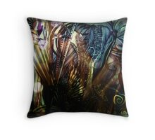 The Compass leads the way & I am mesmerized Throw Pillow