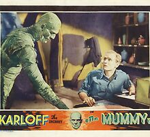 The Mummy (Wide) by Robert Partridge