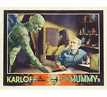 The Mummy (Wide) Photographic Print