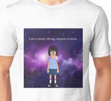 Tina Belcher Galaxy Unisex T-Shirt