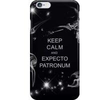 Keep Calm and Expecto Patronum iPhone Case/Skin