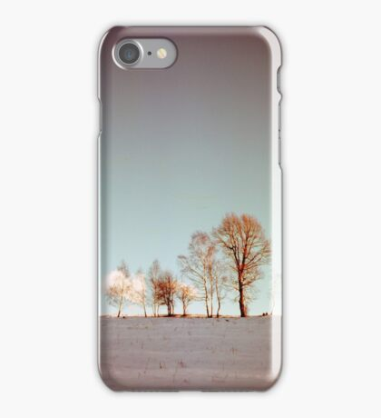Winter horizont iPhone Case/Skin