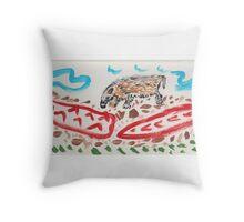 ART FUN by Cheryl D rb-042 Throw Pillow