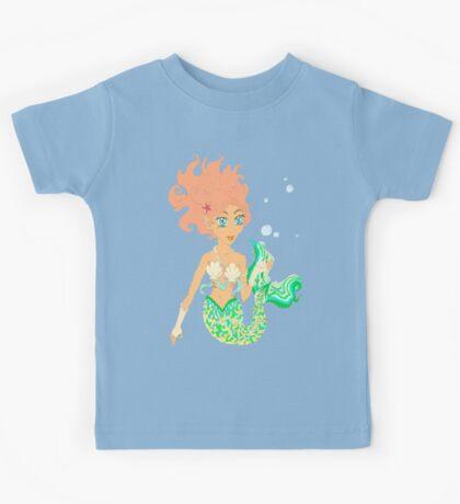 Mermaiden delicate bubble feast Kids Clothes