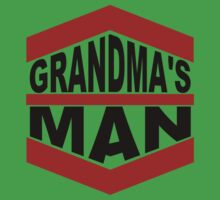 Grandma's Man One Piece - Short Sleeve