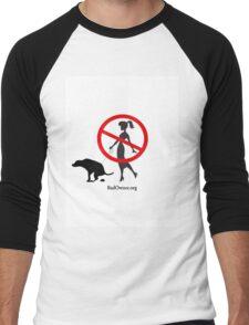 BadOwner.org Men's Baseball ¾ T-Shirt
