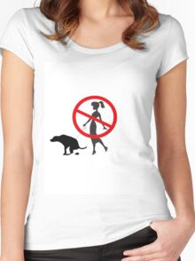 BadOwner Women's Fitted Scoop T-Shirt