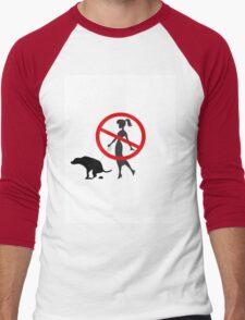 BadOwner Men's Baseball ¾ T-Shirt