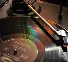 Vinyl Rainbow by Nevermind the Camera Photography
