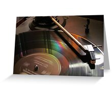 Vinyl Rainbow Greeting Card
