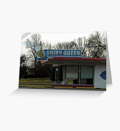 Vintage Dairy Queen Greeting Card