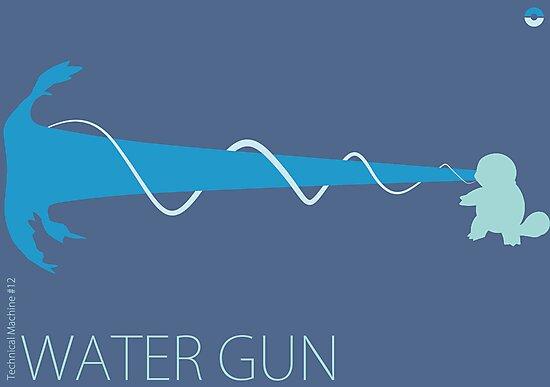 Water Gun by Archymedius