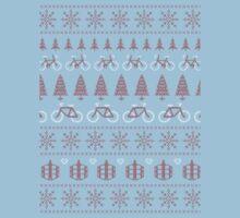 Christmas Jumper MTB Biking by katecrashed