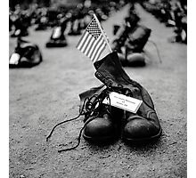 Boots On The Ground Photographic Print