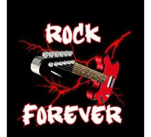 Rock forever Photographic Print