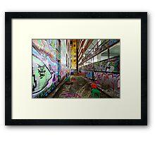 Urban Canvas Framed Print