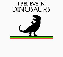 I Believe In Dinosaurs title artwork (black design) Unisex T-Shirt