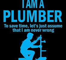 I AM A PLUMBER by yuantees