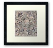 Compass Camouflage Framed Print