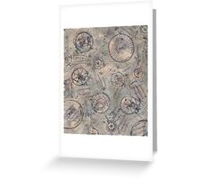 Compass Camouflage Greeting Card