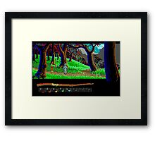 The Loom #03 Framed Print