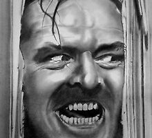 HEEEEERE'S JOHNNY!!! by Smogmonkey