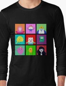 Adventure Time Portraits! Long Sleeve T-Shirt