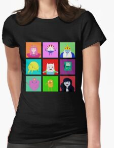Adventure Time Portraits! Womens Fitted T-Shirt