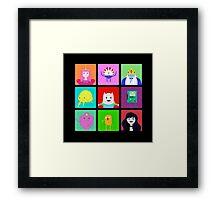 Adventure Time Portraits! Framed Print